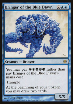 Bringer of the Blue Dawn