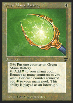 Green Mana Battery