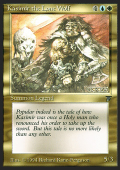 Kasimir the Lone Wolf