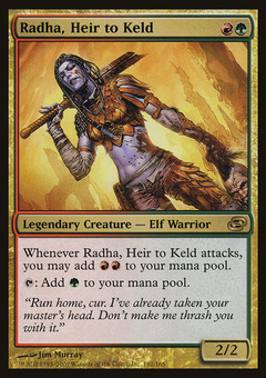 Radha, Heir to Keld
