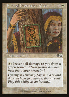 Rune of Protection Green